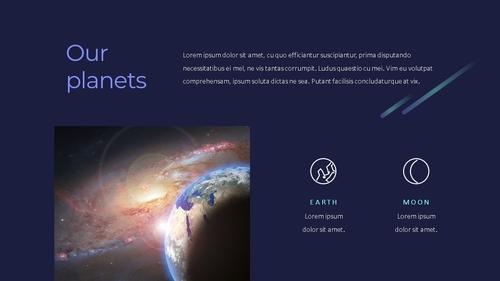 태양계 (Solar System) 프레젠테이션 - 섬네일 8page