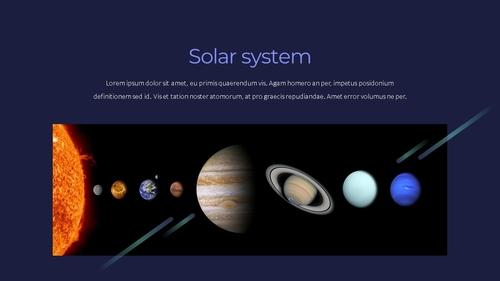 태양계 (Solar System) 프레젠테이션 - 섬네일 10page