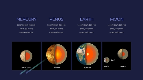 태양계 (Solar System) 프레젠테이션 - 섬네일 12page