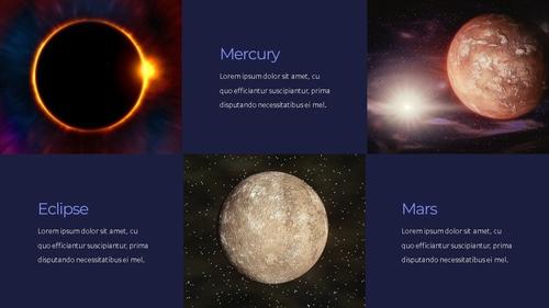 태양계 (Solar System) 프레젠테이션 - 섬네일 15page