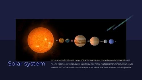 태양계 (Solar System) 프레젠테이션 - 섬네일 20page