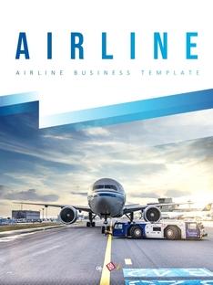 항공사 Airline 세로형 파워포인트