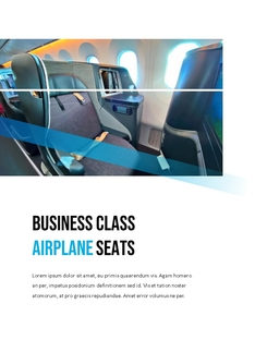 항공사 Airline 세로형 파워포인트(파워포인트>프리미엄 PPT>비즈니스/산업) - 예스폼 쇼핑몰 #9