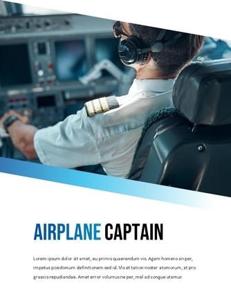 항공사 Airline 세로형 파워포인트 - 섬네일 10page