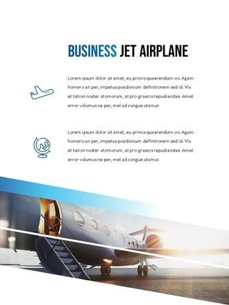 항공사 Airline 세로형 파워포인트 - 섬네일 11page