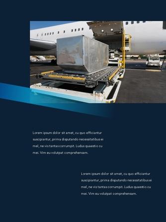 항공사 Airline 세로형 파워포인트 - 섬네일 12page