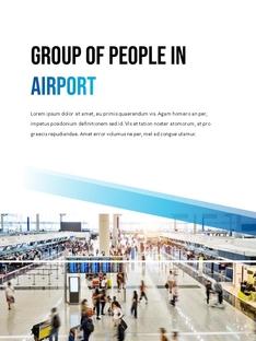 항공사 Airline 세로형 파워포인트(파워포인트>프리미엄 PPT>비즈니스/산업) - 예스폼 쇼핑몰 #16