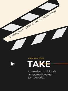 영화와 필름 테마 세로형 템플릿(파워포인트>프리미엄 PPT>사회/문화) - 예스폼 쇼핑몰 #22