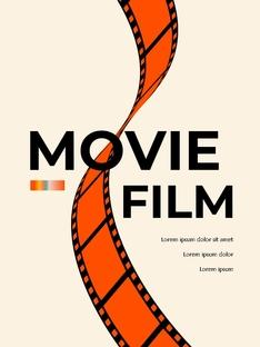 영화와 필름 테마 세로형 템플릿(파워포인트>프리미엄 PPT>사회/문화) - 예스폼 쇼핑몰 #23