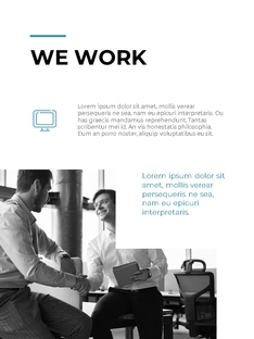 Clean Layout 비즈니스 프로젝트 세로형 #7