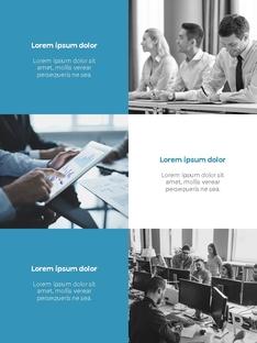Clean Layout 비즈니스 프로젝트 세로형 #9