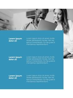 Clean Layout 비즈니스 프로젝트 세로형 #19