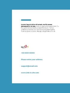 Clean Layout 비즈니스 프로젝트 세로형 #26