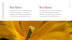 Tulip  튤립 PPT 16:9(파워포인트>프리미엄 PPT>자연/환경) - 예스폼 쇼핑몰 #6