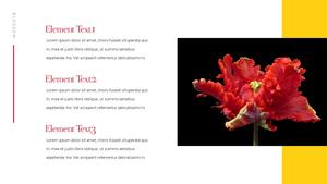 Tulip  튤립 PPT 16:9(파워포인트>프리미엄 PPT>자연/환경) - 예스폼 쇼핑몰 #8