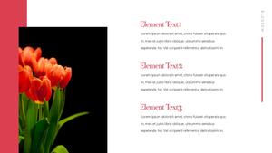 Tulip  튤립 PPT 16:9(파워포인트>프리미엄 PPT>자연/환경) - 예스폼 쇼핑몰 #11