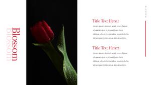 Tulip  튤립 PPT 16:9(파워포인트>프리미엄 PPT>자연/환경) - 예스폼 쇼핑몰 #21