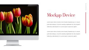 Tulip  튤립 PPT 16:9(파워포인트>프리미엄 PPT>자연/환경) - 예스폼 쇼핑몰 #34