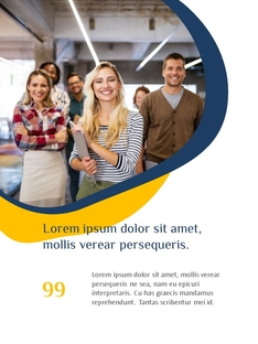 Creative Business Group 파워포인트 세로형 PPT #22