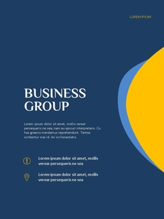 Creative Business Group 파워포인트 세로형 PPT #23