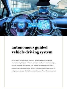 자율 주행 스마트카 Autonomous Driving 세로 템플릿(파워포인트>프리미엄 PPT>첨단/정보통신) - 예스폼 쇼핑몰 #5