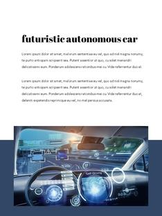 자율 주행 스마트카 Autonomous Driving 세로 템플릿(파워포인트>프리미엄 PPT>첨단/정보통신) - 예스폼 쇼핑몰 #6