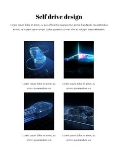 자율 주행 스마트카 Autonomous Driving 세로 템플릿(파워포인트>프리미엄 PPT>첨단/정보통신) - 예스폼 쇼핑몰 #8