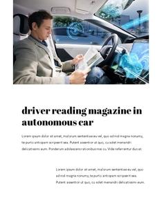 자율 주행 스마트카 Autonomous Driving 세로 템플릿(파워포인트>프리미엄 PPT>첨단/정보통신) - 예스폼 쇼핑몰 #9