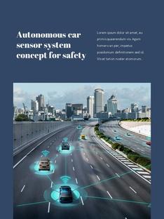 자율 주행 스마트카 Autonomous Driving 세로 템플릿(파워포인트>프리미엄 PPT>첨단/정보통신) - 예스폼 쇼핑몰 #10