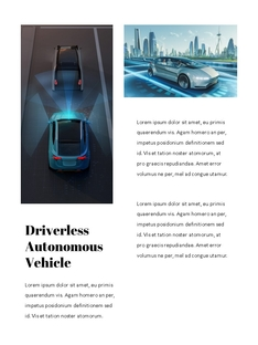 자율 주행 스마트카 Autonomous Driving 세로 템플릿(파워포인트>프리미엄 PPT>첨단/정보통신) - 예스폼 쇼핑몰 #11