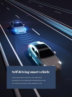 자율 주행 스마트카 Autonomous Driving 세로 템플릿(파워포인트>프리미엄 PPT>첨단/정보통신) - 예스폼 쇼핑몰 #12