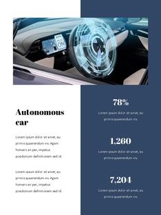 자율 주행 스마트카 Autonomous Driving 세로 템플릿(파워포인트>프리미엄 PPT>첨단/정보통신) - 예스폼 쇼핑몰 #13