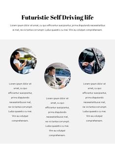 자율 주행 스마트카 Autonomous Driving 세로 템플릿(파워포인트>프리미엄 PPT>첨단/정보통신) - 예스폼 쇼핑몰 #14