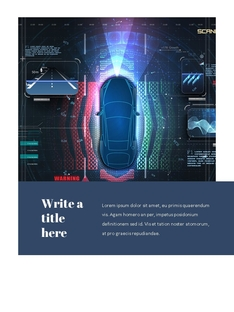 자율 주행 스마트카 Autonomous Driving 세로 템플릿(파워포인트>프리미엄 PPT>첨단/정보통신) - 예스폼 쇼핑몰 #17