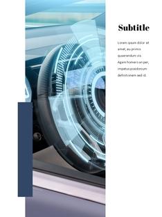자율 주행 스마트카 Autonomous Driving 세로 템플릿(파워포인트>프리미엄 PPT>첨단/정보통신) - 예스폼 쇼핑몰 #18