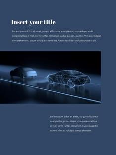 자율 주행 스마트카 Autonomous Driving 세로 템플릿(파워포인트>프리미엄 PPT>첨단/정보통신) - 예스폼 쇼핑몰 #23