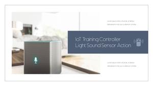 IoT  Internet of Things PPT 템플릿(파워포인트>프리미엄 PPT>첨단/정보통신) - 예스폼 쇼핑몰 #11