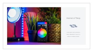 IoT  Internet of Things PPT 템플릿(파워포인트>프리미엄 PPT>첨단/정보통신) - 예스폼 쇼핑몰 #23