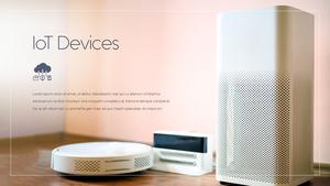 IoT  Internet of Things PPT 템플릿(파워포인트>프리미엄 PPT>첨단/정보통신) - 예스폼 쇼핑몰 #26