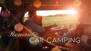 로맨틱 차박 캠핑  Car Camping PPT 템플릿(파워포인트>프리미엄 PPT>스포츠/레져) - 예스폼 쇼핑몰 #1