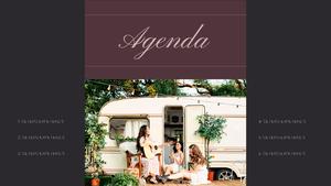 로맨틱 차박 캠핑  Car Camping PPT 템플릿(파워포인트>프리미엄 PPT>스포츠/레져) - 예스폼 쇼핑몰 #2