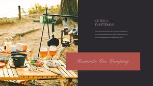 로맨틱 차박 캠핑  Car Camping PPT 템플릿(파워포인트>프리미엄 PPT>스포츠/레져) - 예스폼 쇼핑몰 #7