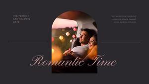 로맨틱 차박 캠핑  Car Camping PPT 템플릿(파워포인트>프리미엄 PPT>스포츠/레져) - 예스폼 쇼핑몰 #8