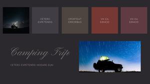 로맨틱 차박 캠핑  Car Camping PPT 템플릿(파워포인트>프리미엄 PPT>스포츠/레져) - 예스폼 쇼핑몰 #13