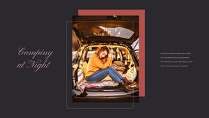 로맨틱 차박 캠핑  Car Camping PPT 템플릿(파워포인트>프리미엄 PPT>스포츠/레져) - 예스폼 쇼핑몰 #14