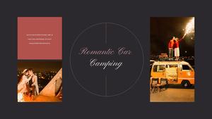 로맨틱 차박 캠핑  Car Camping PPT 템플릿(파워포인트>프리미엄 PPT>스포츠/레져) - 예스폼 쇼핑몰 #15