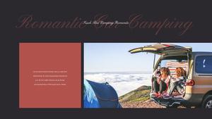 로맨틱 차박 캠핑  Car Camping PPT 템플릿(파워포인트>프리미엄 PPT>스포츠/레져) - 예스폼 쇼핑몰 #17