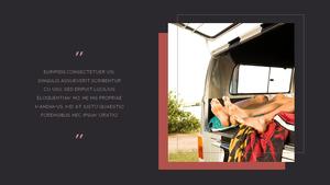 로맨틱 차박 캠핑  Car Camping PPT 템플릿(파워포인트>프리미엄 PPT>스포츠/레져) - 예스폼 쇼핑몰 #18