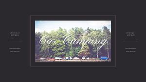 로맨틱 차박 캠핑  Car Camping PPT 템플릿(파워포인트>프리미엄 PPT>스포츠/레져) - 예스폼 쇼핑몰 #21