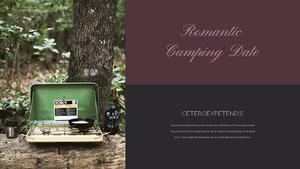 로맨틱 차박 캠핑  Car Camping PPT 템플릿(파워포인트>프리미엄 PPT>스포츠/레져) - 예스폼 쇼핑몰 #23
